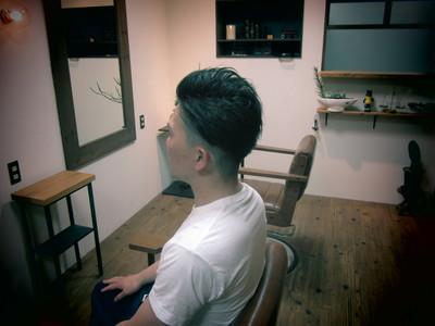 2ブロックでバック刈上げ eternity hairのヘアスタイル