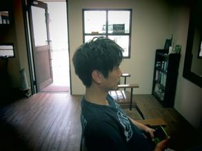 カジュアルにワックススタイル|eternity hair 阪本 直道のメンズヘアスタイル