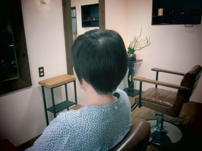 襟足をタイトにしたショート|eternity hairのヘアスタイル
