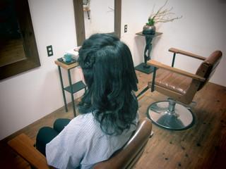 ざっくり巻き髪