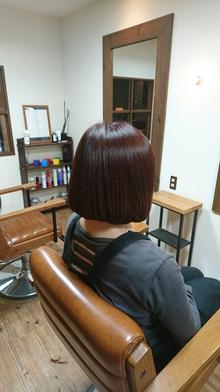 ローズ色 eternity hairのヘアスタイル