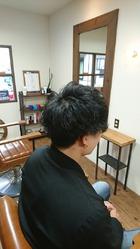 2ブロックマッシュ|eternity hairのヘアスタイル