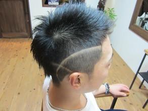 ☆サイドライン☆|eternity hair 阪本 直道のメンズヘアスタイル