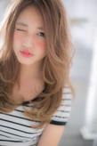 女の子の憧れを詰め込んだ☆無敵の極甘ロング|Euphoria +e【ユーフォリア・イー】60階通り店のヘアスタイル