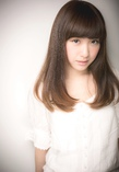 小顔な上品さ☆王道ストレートスタイル|Euphoria +e【ユーフォリア・イー】60階通り店のヘアスタイル