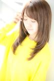 ツヤツヤのナチュラルストレート|Euphoria GINZA GRANDEのヘアスタイル