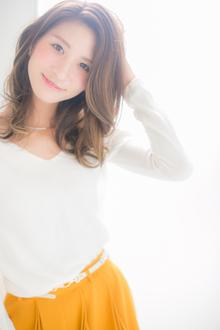 ナチュラルエアリー☆かきあげバング☆石原さとみ風スタイル|Euphoria GINZA GRANDEのヘアスタイル