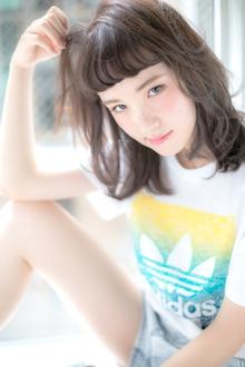 うぶバング|Euphoria GINZA GRANDEのヘアスタイル