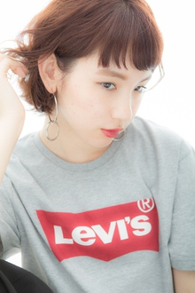 小顔なラフスタイル6|Euphoria GINZA GRANDEのヘアスタイル