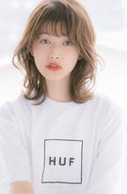 小顔あざと毛|Euphoria GINZA GRANDEのヘアスタイル