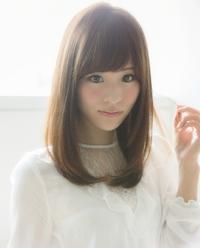 【Euphoria銀座本店】透明感+柔らかさの小顔ストレート
