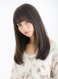 【Euphoria/立花】大人かわいいシースルーバング×毛先カール