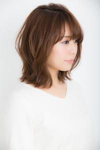 【Euphoria銀座本店】大人かわいい×前下がり斜め前髪