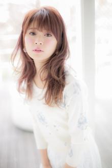 【Euphoria】春を彩る♪アンニュイカール☆フェミニンセミディ|Euphoria HARAJUKUのヘアスタイル