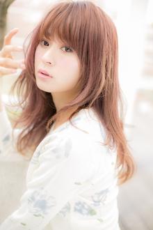 【Euphoria】春を彩る♪クリスタルクリアピンク☆|Euphoria HARAJUKUのヘアスタイル