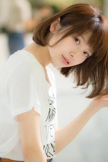 【EuphoriaHARAJUKU】シンプルが可愛い♪ナチュラルボブ☆|Euphoria HARAJUKUのヘアスタイル