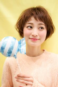 【EuphoriaHARAJUKU】キュート&ガーリー★ショートボブ|Euphoria HARAJUKUのヘアスタイル