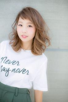 【Euphoria】2WAYバングで差をつける☆可愛さ×色気mixミディ2|Euphoria HARAJUKUのヘアスタイル
