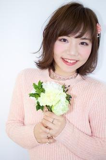 【EuphoriaHARAJUKU】☆外ハネSweetガール☆|Euphoria HARAJUKUのヘアスタイル