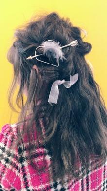 【Euphoria】くるんっと4つするだけで可愛いさは作れる★|Euphoria HARAJUKUのヘアスタイル