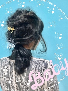 【Euphoria】モコモコarenge★girlyおしゃかわstyle|Euphoria HARAJUKUのヘアスタイル