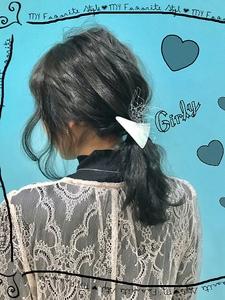 【Euphoria】グレーarengeでより上品な女性に★|Euphoria HARAJUKUのヘアスタイル