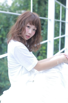 【Euphoria】無防備な色気♪不思議の国の☆ロマンティックミディ|Euphoria HARAJUKUのヘアスタイル