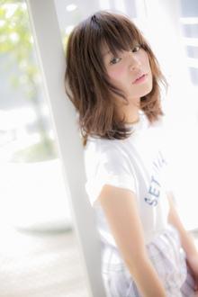 【Euphoria】メリハリ感が可愛い☆丸み×くびれマッシュウルフ|Euphoria HARAJUKUのヘアスタイル