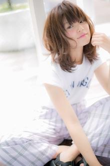 【Euphoria】メリハリ感が可愛い☆丸み×くびれマッシュウルフ2|Euphoria HARAJUKUのヘアスタイル