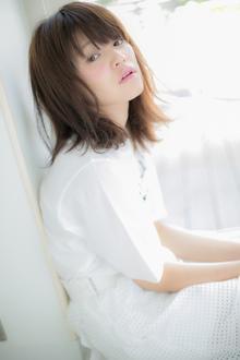 【Euphoria】ヘルシーで色っぽい☆起き抜けレイヤーミディ|Euphoria HARAJUKUのヘアスタイル