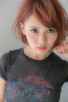 【Euphoria】セミウエットなツヤ感がセクシーな☆アシメボブ♪ Euphoria HARAJUKUのヘアスタイル