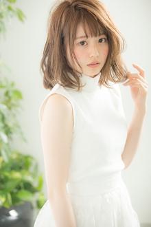 【Euphoria】じゅわっと潤う透け感MAX☆ちゅるるんヌーディロブ|Euphoria HARAJUKUのヘアスタイル