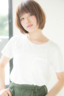 【Euphoria】ポジティブなオーラをまとう♪スッピンショート☆|Euphoria HARAJUKUのヘアスタイル