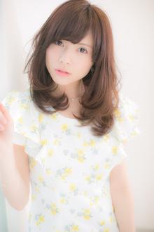 【Euphoria】可愛さの中から大人の色気が香る☆ホイップセミディ|Euphoria HARAJUKUのヘアスタイル