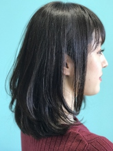 【EuphoriaHARAJUKU】モーブグレージュ×レイヤーロブ☆ 担当森|Euphoria HARAJUKU Euphoria HARAJUKUのヘアスタイル