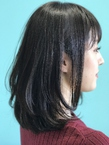 【EuphoriaHARAJUKU】モーブグレージュ×レイヤーロブ☆ 担当森|Euphoria HARAJUKUのヘアスタイル