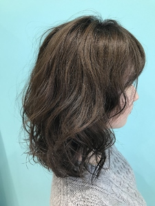 【EuphoriaHARAJUKU】伸ばしかけも安心♪ふわふわパーマ担当宍戸|Euphoria HARAJUKUのヘアスタイル