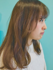 【EuphoriaHARAJUKU】寒色+98%トリートメントパーマ★担当関口|Euphoria HARAJUKUのヘアスタイル