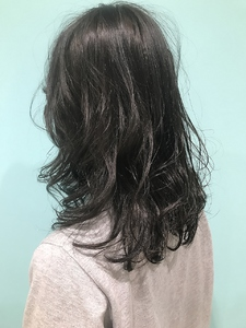 【EuphoriaHARAJUKU】★シルキーグレー★担当宍戸|Euphoria HARAJUKUのヘアスタイル