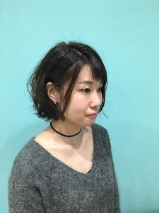 【EuphoriaHARAJUKU】ショートボブ×パーマ担当黒田|Euphoria HARAJUKUのヘアスタイル