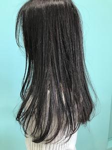 【EuphoriaHARAJUKU】★モーヴグレー×ストレート★担当宍戸|Euphoria HARAJUKUのヘアスタイル