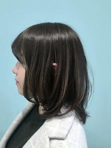 【EuphoriaHARAJUKU】レイヤーミディ×アッシュ★担当黒田|Euphoria HARAJUKUのヘアスタイル