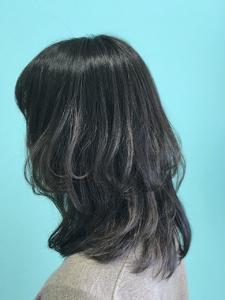 【EuphoriaHARAJUKU】レイヤーで魅せるひし形ミディ☆ 担当森|Euphoria HARAJUKUのヘアスタイル