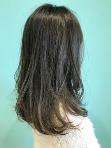 【EuphoriaHARAJUKU】ふんわりアッシュグレージュ♪♪担当宍戸|Euphoria HARAJUKUのヘアスタイル