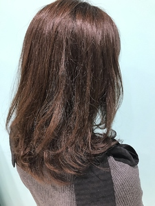【EuphoriaHARAJUKU】ツヤツヤナチュラルブラウン♪担当宍戸|Euphoria HARAJUKUのヘアスタイル