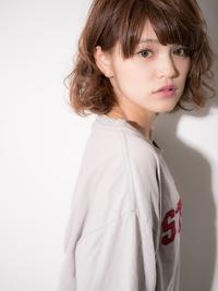 【Euphoria】おしゃれ可愛い♪ラフ☆カジュアルフェミニンボブ☆