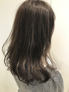 【EuphoriaHARAJUKU】★ナチュラルグレー★担当宍戸|Euphoria HARAJUKUのヘアスタイル