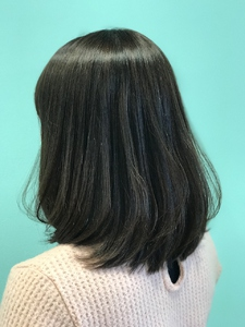 【EuphoriaHARAJUKU】鎖骨レングスミディ☆ 担当森|Euphoria HARAJUKUのヘアスタイル