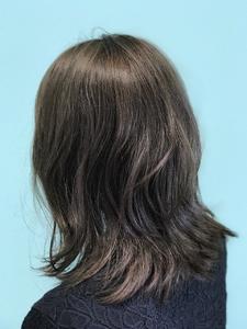 【EuphoriaHARAJUKU】外ハネミディ×グラッシアグレー☆ 担当森|Euphoria HARAJUKUのヘアスタイル