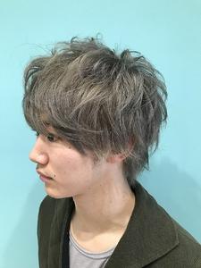 【EuphoriaHARAJUKU】Men's☆シルバーアッシュ 担当宍戸|Euphoria HARAJUKUのヘアスタイル